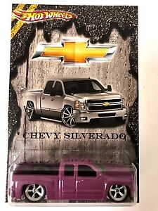 Image Is Loading Hot Wheels Chevy Silverado Limited Edition Custom Only1