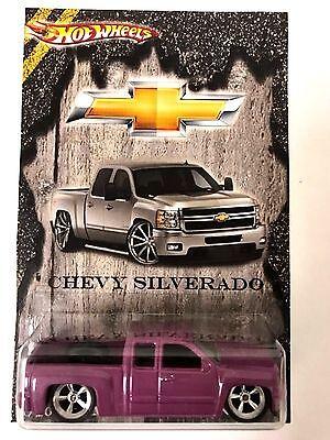 Hot Wheels Cody's Super Custom Chevy Silverado Treasure Hunt w//Real Riders