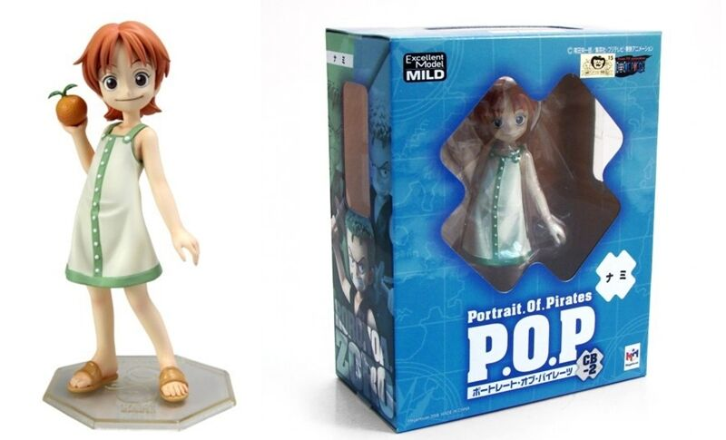 FIGURE ONE PIECE P.O.P. POP NAMI CB-2 EXCELLENT MODEL MILD STATUE ANIME MANGA  1