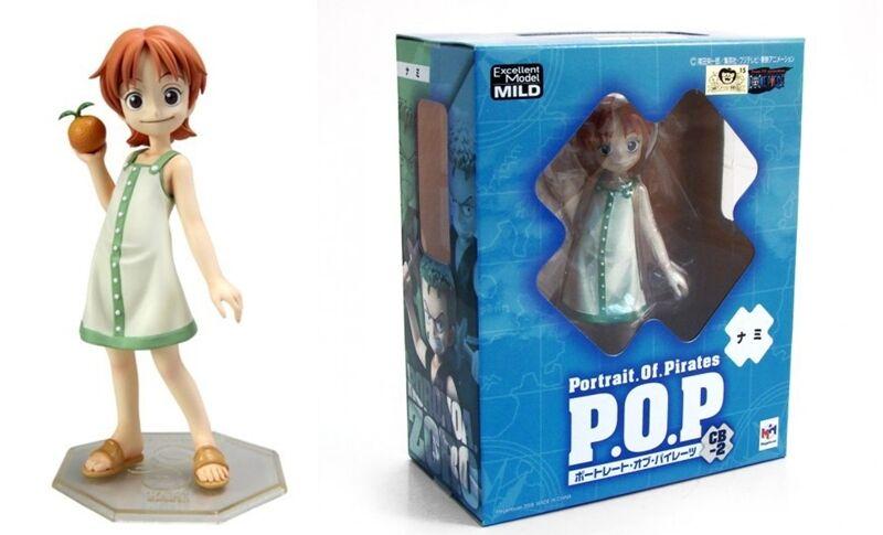 FIGURINE ONE PIECE  P.O.P. POP NAMI CB-2 EXCELLENT MODEL DOUX STATUE ANIME hommeGA  pas de minimum