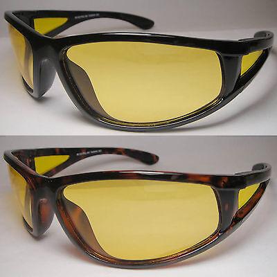 Night Drive Spring Temple Yellow Lens Vision 100/% UVA UVB Sun Glass