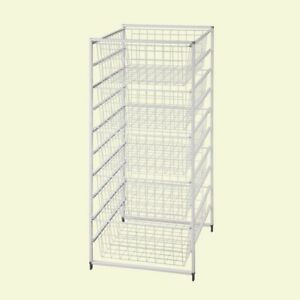 Details About Drawer Kit 5 Wire Baskets Storage Office Laundry Portable  ClosetMaid 41 In. H