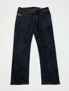 Diesel-jeans-zavor-uomo-usato-gamba-dritta-nero-W31-tg-45-denim-boyfriend-T5565