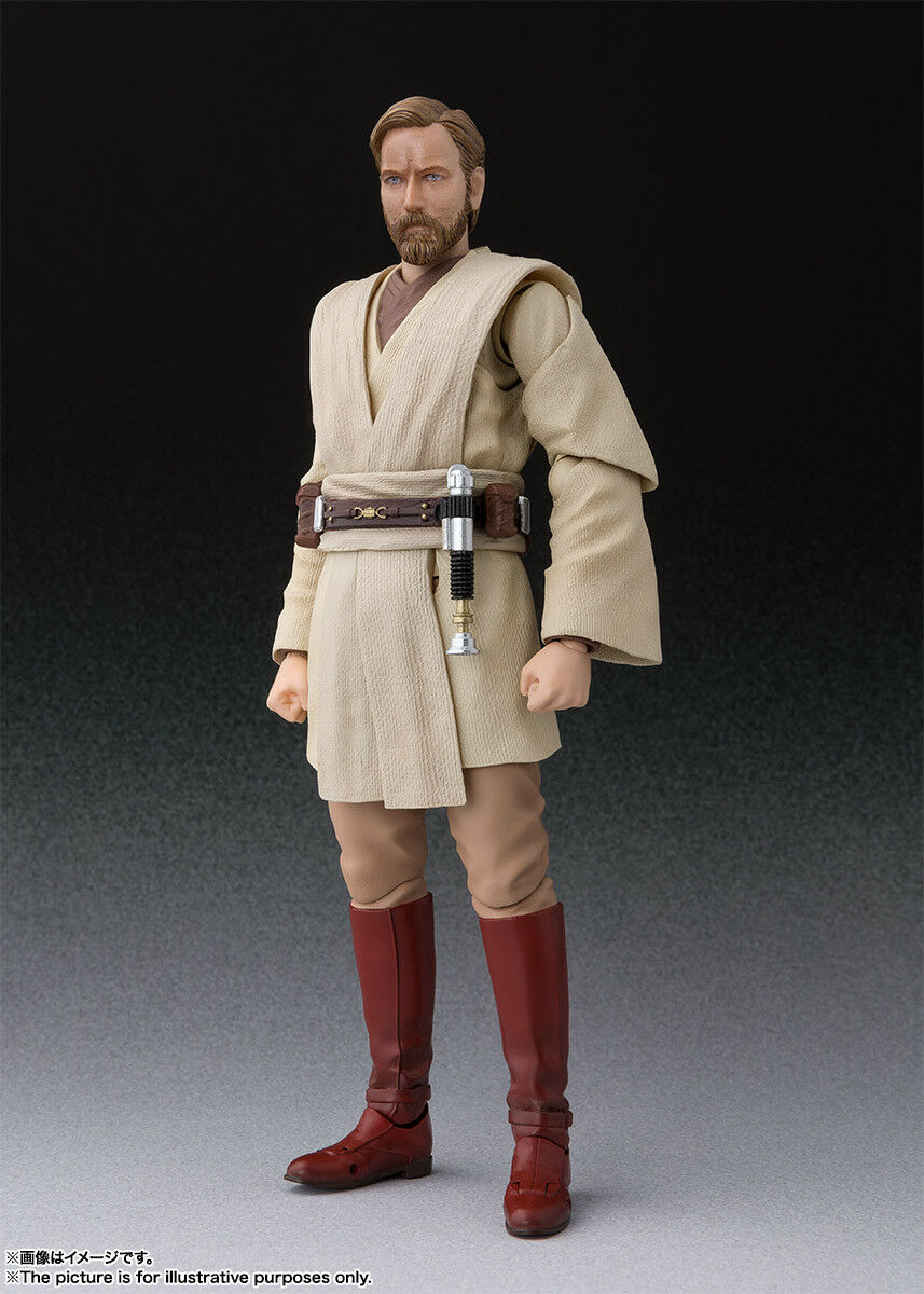 Bandai S.H. Figuarts la guerra de las Galaxias Obi-Wan Kenobi (La venganza de los Sith) versión de Japón