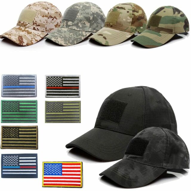 Tactical Operator Camo Baseball Hat Military Army Special Forces Cap