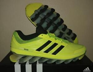 best loved f6239 2863a Image is loading New-G66972-123-Adidas-Springblade-Electric-Yellow-Volt-