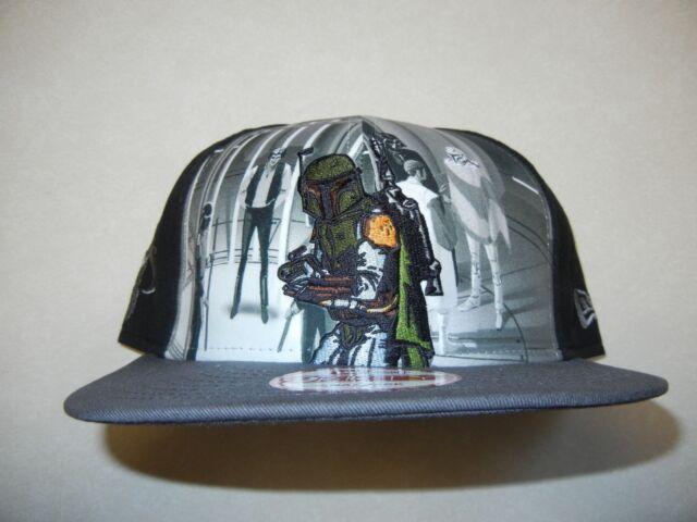 Star Wars 40th Anniversary Episode IV New Hope Black New Era 9Fifty Snapback Hat