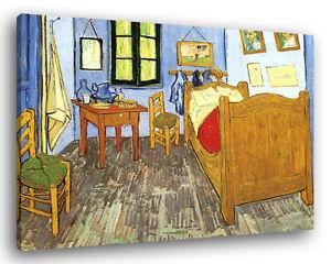 Quadro moderno van gogh camera da letto vari formati arredamento stampa su tela ebay - Camera da letto arredamento moderno ...