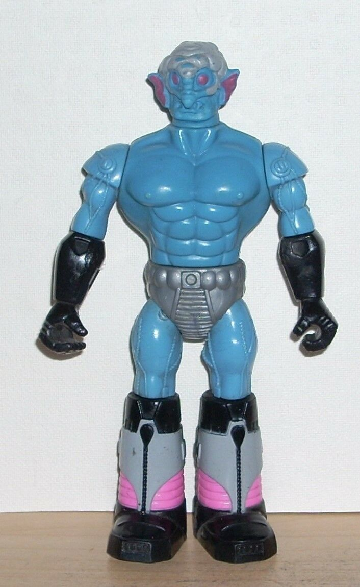 Jahrgang 1980 akamas x-changers mx-space roboter meister bolt action - figur.