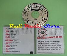 CD UNCONDITIONALLY GUARANTEED 2 compilation PROMO 1999 XTC SEBADOH MANSUN (C28)