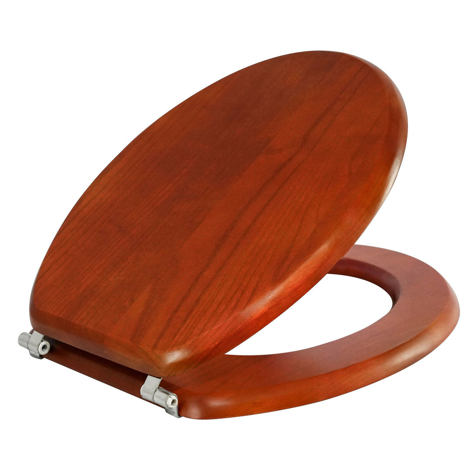 Estilo Toilet Seat Colonial Oak adds style with comfort easy to install