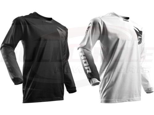 Riding Shirt Men/'s Sizes MX//ATV//BMX//MTB Thor MX Pulse Whiteout Blackout Jersey