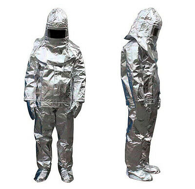500 Degree Thermal Radiation Heat Resistant Aluminized Suit Fireproof Clothes