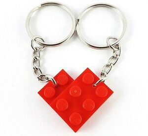 2 X Valentines Day Love Heart Couple Voodoo Doll Keyrings Keychains Romantic Toy