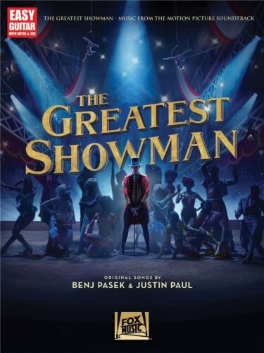 Greatest Showman Learn to Play Easy Tunes Beginner Starting Guitar MUSIC BOOK