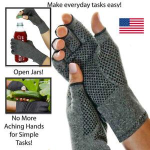 Copper-Compression-Gloves-Carpal-Tunnel-Arthritis-Pain-Relief-Therapeutic-Braces