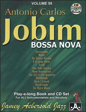 Musical Instruments & Gear Aebersold 098 Antonio Carlos Jobim Book/cd High Standard In Quality And Hygiene Musical Instruments & Gear
