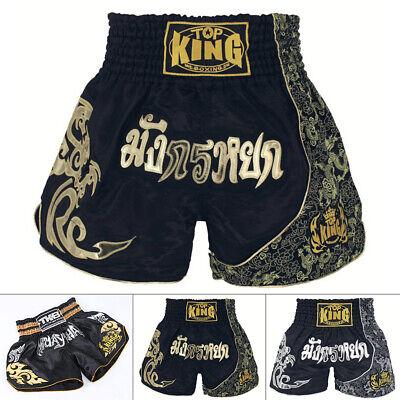 Men MMA Short Boxing Trunks Kickboxing Fight Grappling Pants Muay Thai Shorts