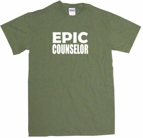 Epic Counselor Mens Tee Shirt Pick Size Color Small-6XL