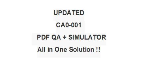 PMI Certified Associate in Project Management Test CA0-001 CAPM Exam QA PDF/&SIM