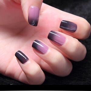 Gellen UV Gel Nail Polish Color Temperature Changing Manicure ...
