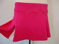 Pink Pleated Prince Tennis Golf Running Sports Skirt Skort White Inserts