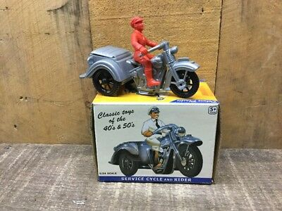 Harley Davidson Servi Car Rider Plastic Thomas Toy Reproduction Flathead EBay