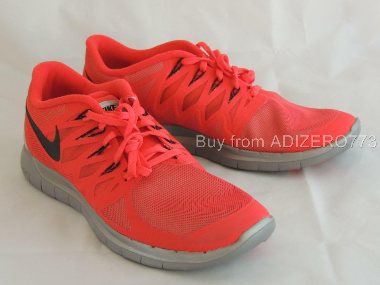 Nike Free 5.0 FLASH H2O Repel 685168 600 Action Red Reflect Silver Wolf Grey