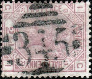 GB-IRELAND-ca-1878-SG141-QV-2-1-2d-rose-pl-13-used-034-MULLINGAR-034-numeral-345