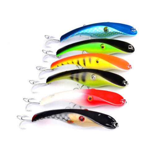 "6pcs//lot Fishing Lures Crank Proberos Fishing Tackle 40.08g//5.5/"" Fishing Baits"