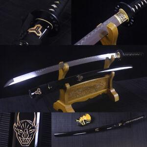 High-Quality-Japanese-Samurai-Sword-Clay-Tempered-Blade-Sharp-Kill-Bill-Katana