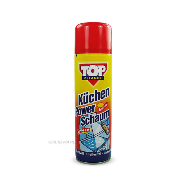 Kuchenreiniger Powerschaum 500ml Top Cleaner Antifett Formel For