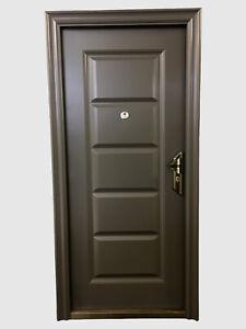 Das Bild Wird Geladen  Haustuer Wohnungstuer Eingangstuer Sicherheitstuer Kellertuer 2050x1070mm GA41