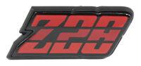 1980 1981 Camaro Z-28 Gas Fuel Door Emblem Z28 Red Tri Color