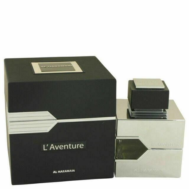 L'Aventure by Al Haramain  eau de parfum for Man 3.4 oz/ 100 ml New in box