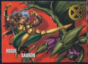 1996-Marvel-Vision-Trading-Card-53-Rogue-vs-Sauron