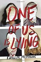 One Of Us Is Lying Hardcover By Karen M. Mcmanus on sale