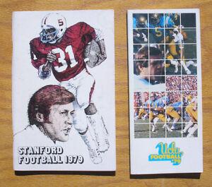 1979-Stanford-amp-UCLA-Football-Media-Guides-PAC-10-Yearbooks-John-Elway-Etc