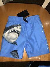 Pac-Man Toddler Boys Blue /& Red Swim Trunks Board Shorts 2T
