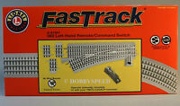 Lionel Fastrack 060 Left Remote/command Switch Track O Gauge Turnout 6-81951