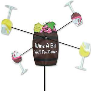 Image Is Loading 21 034 Wine A Bit Wine Barrel WhirliGig