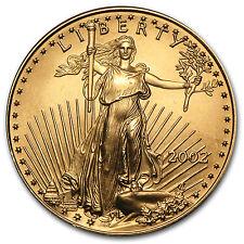 2002 1/2 oz Gold American Eagle Coin - Brilliant Uncirculated - SKU #7486