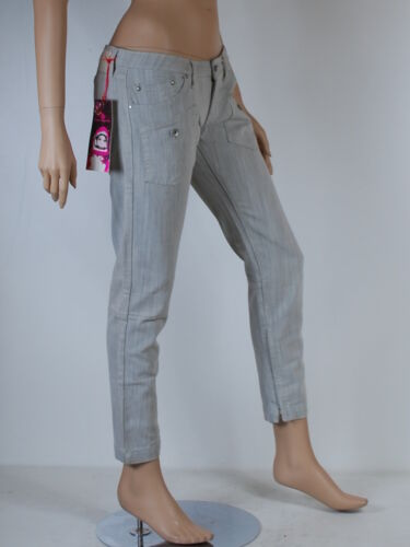 Slim 36 Jeans Gris T 27 Taille W Fornarina Femme gwwxCdq8