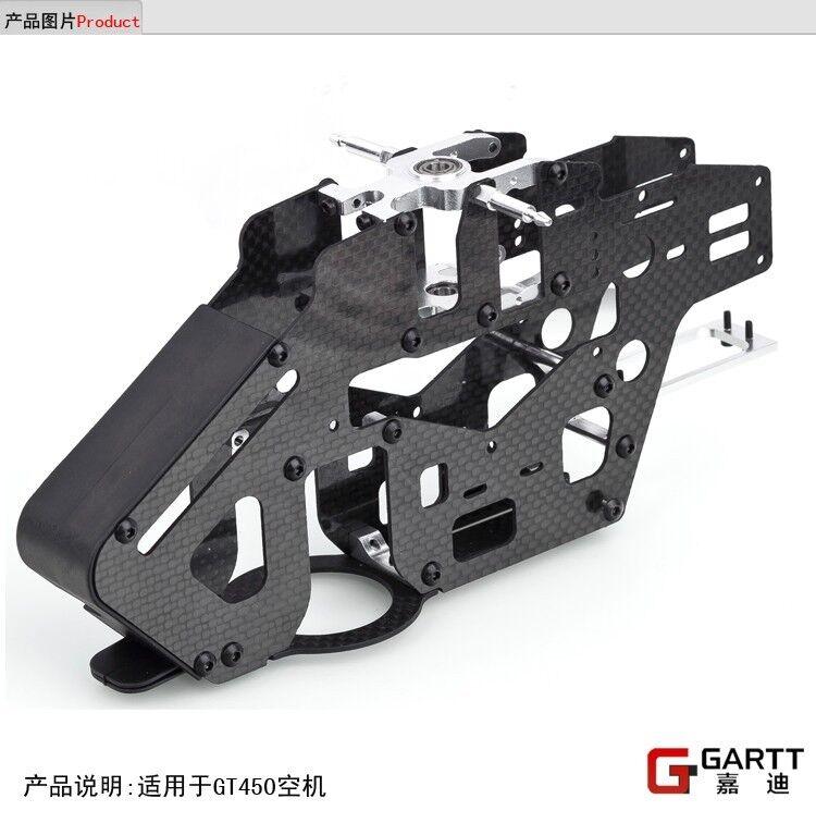 GARTT 450 Carbon Fiber Main Frame Assembly TT Algin Trex 450 PRO Helicopter NEW