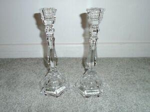 Tiffany Co Crystal Candle Holders Ebay