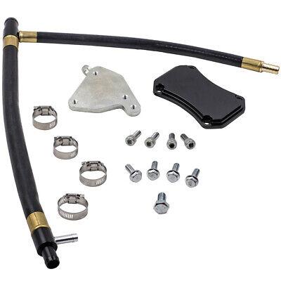 EGR Valve Cooler Delete Kit fit 11-15 Silverado Sierra 6.6L LML Duramax Diesel