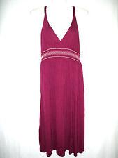 Damenmode Kleider H&M Damen Kleid Weiche Qualität Helles Pflaumenblau Gr.46 TOP
