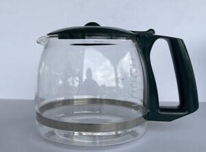Gevalia 12 Cup Carafe Coffee Maker Replacement Pot Green Lid & Handle.