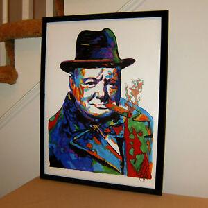 Winston-Churchill-Prime-Minister-UK-Politics-Poster-Print-Wall-Art-18x24