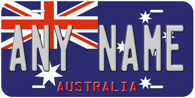 South Australia Flag Aluminum Novelty Car License Plate